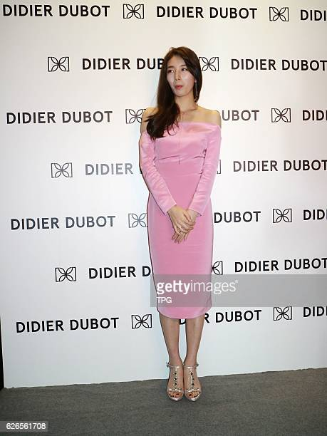 Suzy promotes for Didier Dubot on 29th November 2016 in Hongkong China
