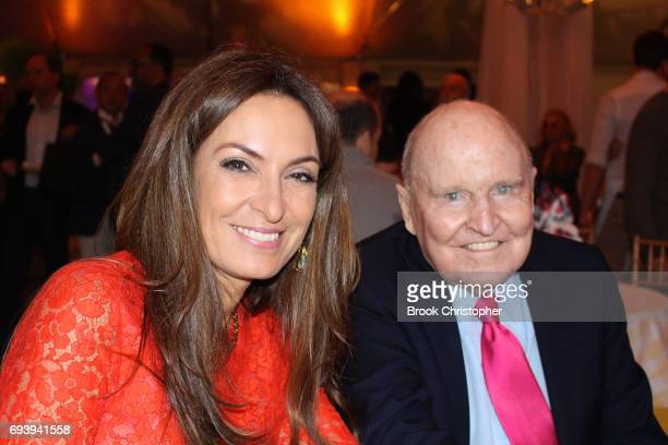 Suzy Welch and Jack Welch attend the Central Park Conservancy Taste Of Summer Benefit in Central Park on June 7 2017 in New York City