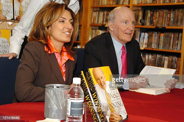 Suzy Welch and Jack Welch former CEO of General Electric