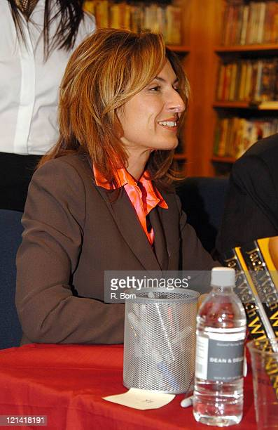 Suzy Welch during Jack Welch Former CEO of General Electric Signs His Book Winning at Borders in New York City at Borders in New York City New York...