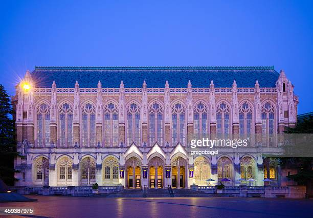 Suzzallo Library at University of Washington campus in Seattle, WA