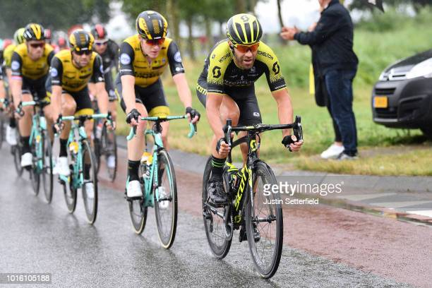 Svein Tuft of Canada and Team Mitchelton - Scott / during the 14th BinckBank Tour 2018, Stage 1 a 177,3km stage from Heerenveen to Bolsward / BBT /...