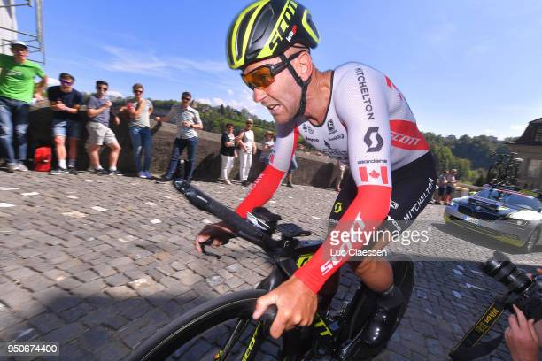Svein Tuft of Canada /and Team MitcheltonScott / during the 72nd Tour de Romandie 2018 Prologue a 4km individual time trial stage from Fribourg to...