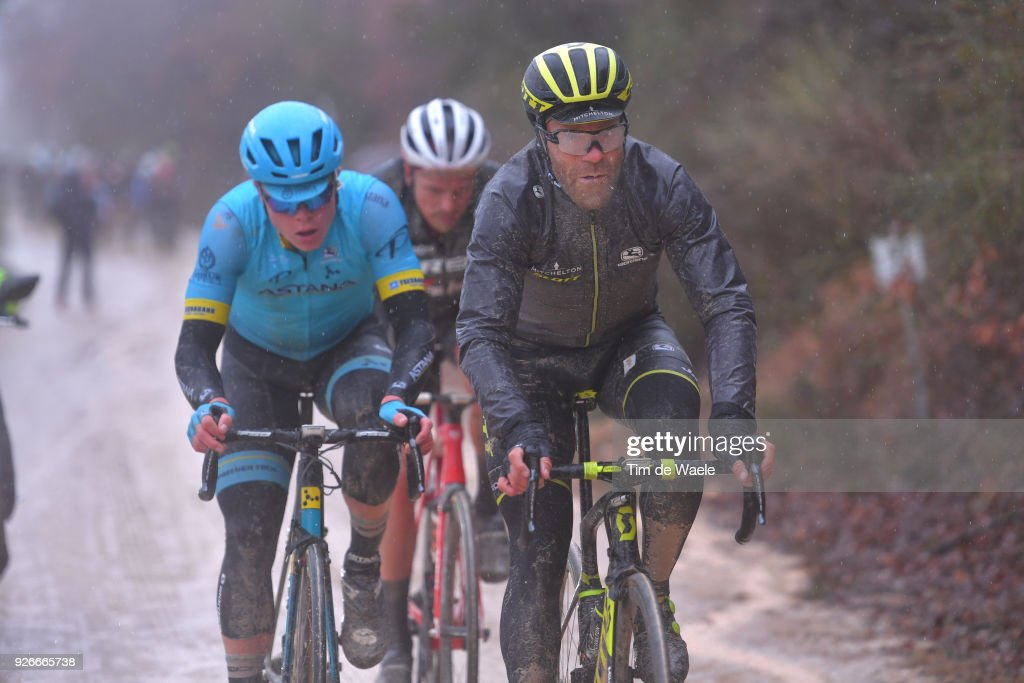 Svein Tuft of Canada / Rain / Mud / Eroica / Siena - Siena (184km) on March 3, 2018 in Siena, Italy.