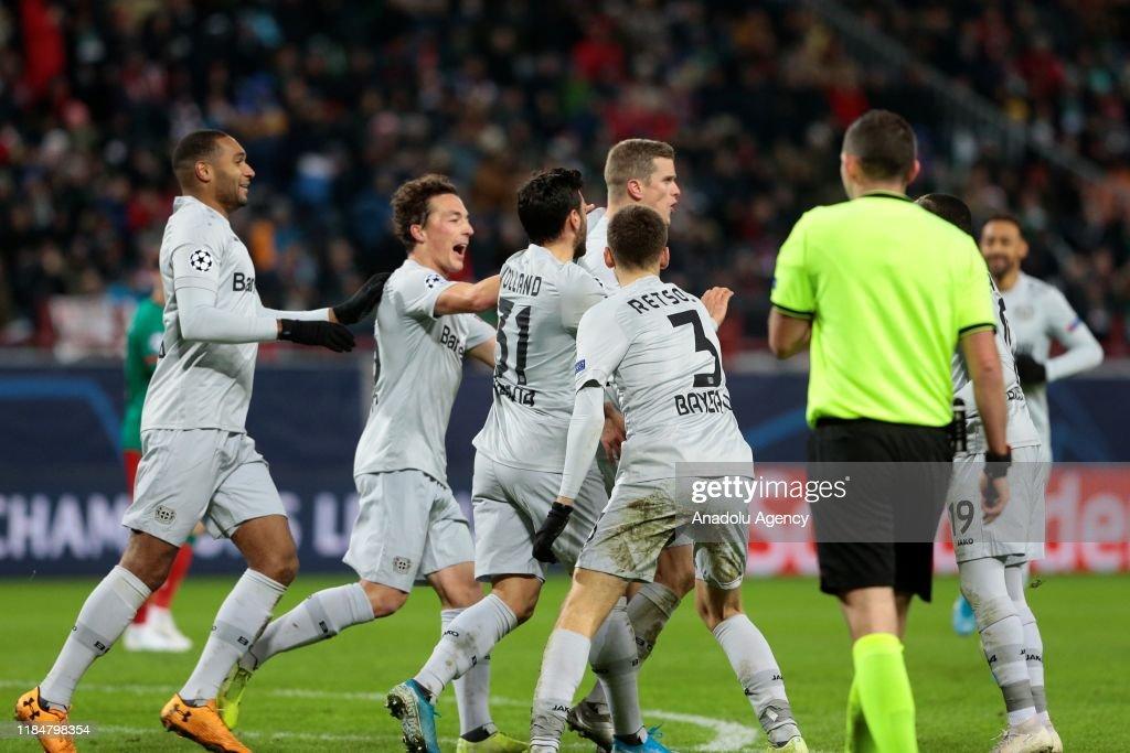 Lokomotiv Moscow vs Bayer Leverkusen - UEFA Champions League : News Photo