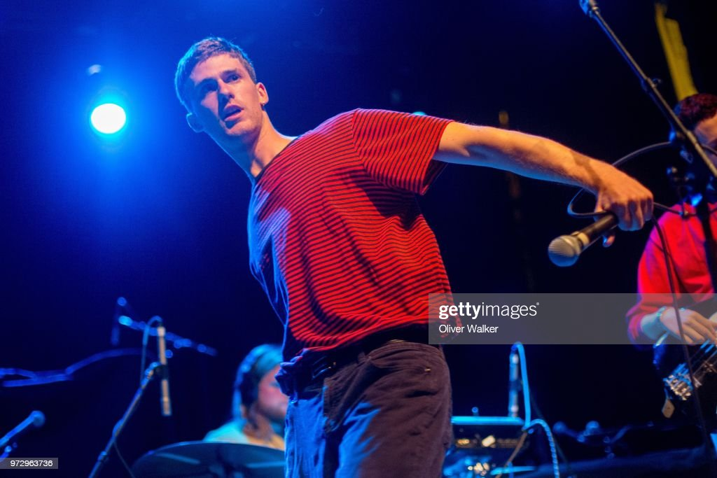 Sven Gamsky of Still Woozy performs at El Rey Theatre on June 12, 2018 in Los Angeles, California.