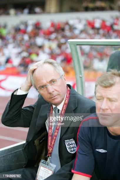 Sven Goran ERKSSON head coach of England during the European Championship match between England and Switzerland at Estadio Cidade de Coimbra,...