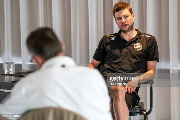 Sven Kramer of Jumbo Visma seen during a meeting with the press on May 27 2020 in Wolvega The Netherlands