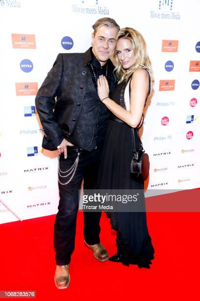 Sven Martinek and Bianca Ruetter attend the Movie Meets Media night at Grand ElysÈe Hamburg on December 3, 2018 in Hamburg, Germany.