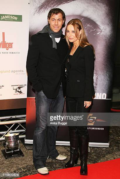 Sven Martinek and Xenia Seeberg attend the Wir Lieben Kino Directors Cut photocall and press conference on day seven of the 58th Berlinale Film...