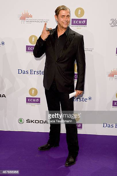 Sven Martinek attends the Echo Award 2015 Red Carpet Arrivals on March 26 2015 in Berlin Germany