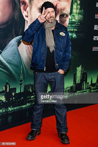 Sven Martinek attends the 'Tatort Der Grosse Schmerz' premiere in Berlin at Kino Babylon on December 16 2015 in Berlin Germany