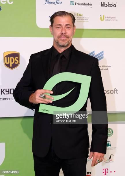 Sven Martinek auf den GreenTec Awards 2015 im Velodrom Berlin am