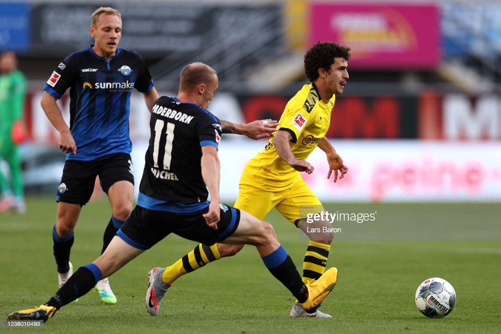 SC Paderborn 07 v Borussia Dortmund - Bundesliga : News Photo