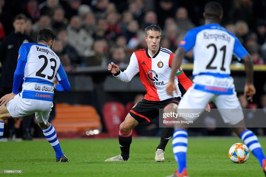 Feyenoord v De Graafschap - Dutch Eredivisie : ニュース写真