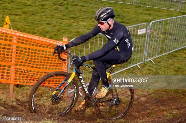 Sven Nys of Belgium ex pro-rider / during the 71st Cyclocross World Championships Duebendorf 2020, Training / @UCI_CX / #Dubendorf2020 / on January...