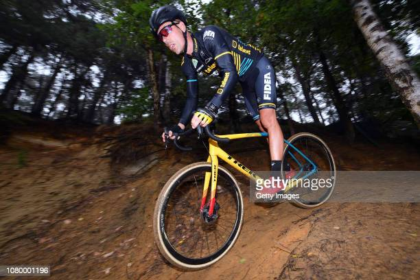 Sven Nys of Belgium general manager and owner of Team Telenet Fidea Lions during the Team Telenet Fidea Lions training