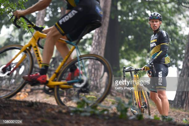Sven Nys of Belgium general manager and owner of Team Telenet Fidea Lions during the Team Telenet Fidea Lions training sessions on September 6, 2018...