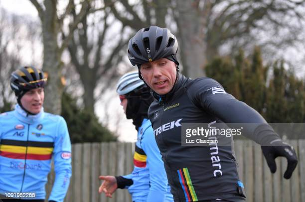 Sven Nys of Belgium general manager and owner of Team Telenet Fidea Lions / during the 70th Cyclo-cross World Championships Bogense 2019 - Training /...