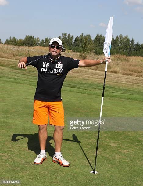 Sven Ottke 6 GRK Golf Charity Masters Golf Country Club Leipzig Machern bei Leipzig Sachsen Deutschland Europa Benefiz Golfplatz Cappy Schirrmmütze...