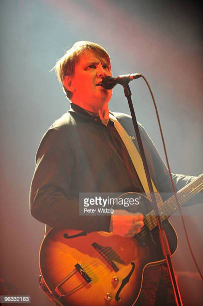 Sven Regener of Element Of Crime performs on stage at the Palladium on February 1 2010 in Cologne Germany
