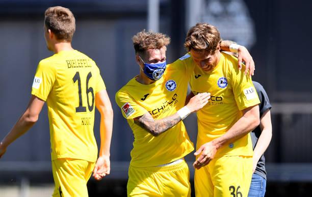 DEU: Holstein Kiel v DSC Arminia Bielefeld - Second Bundesliga