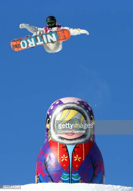 Sven Thorgren of Sweden competes in the Men's Slopestyle Qualification during the Sochi 2014 Winter Olympics at Rosa Khutor Extreme Park on February...