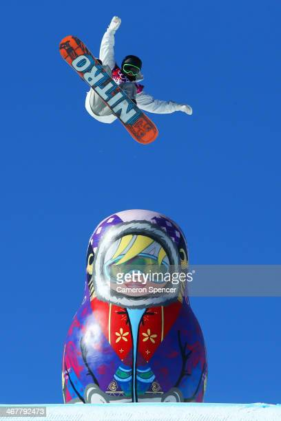 Sven Thorgren of Sweden competes in the Snowboard Men's Slopestyle Final during day 1 of the Sochi 2014 Winter Olympics at Rosa Khutor Extreme Park...