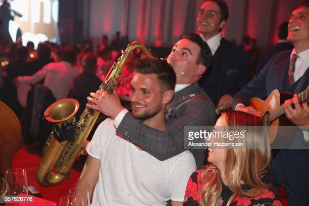 Sven Ulreich of FC Bayern Muenchen attends the FC Bayern Muenchen Celebration 2018 Party at Nockherberg on May 12 2018 in Munich Germany