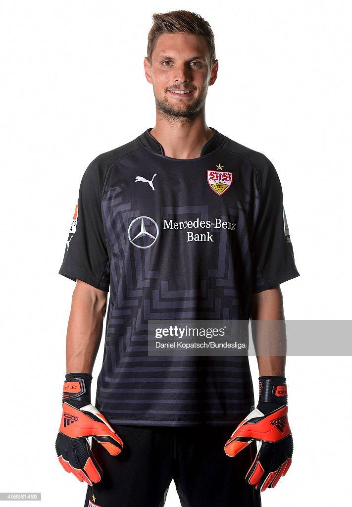 Sven Ulreich poses during the VfB Stuttgart Media Day on July 24, 2014 in Stuttgart, Germany.