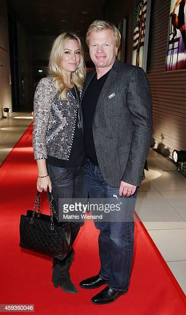 Svenja and Oliver Kahn attend the RTL Telethon 2014 on November 20 2014 in Cologne Germany