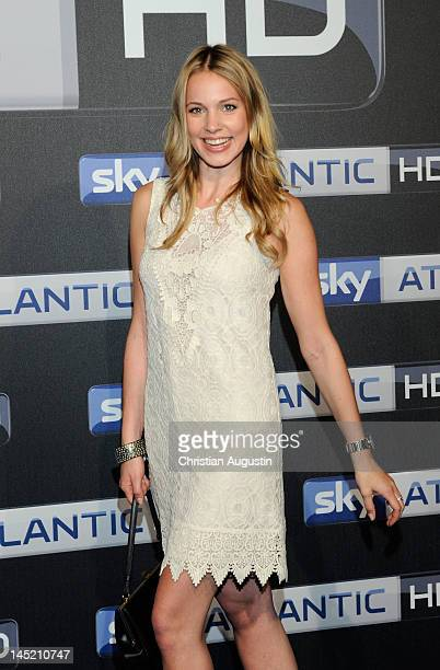 Svenja Holtmann attends SKY launch event Party at Schuppen 52 on May 23 2012 in Hamburg Germany