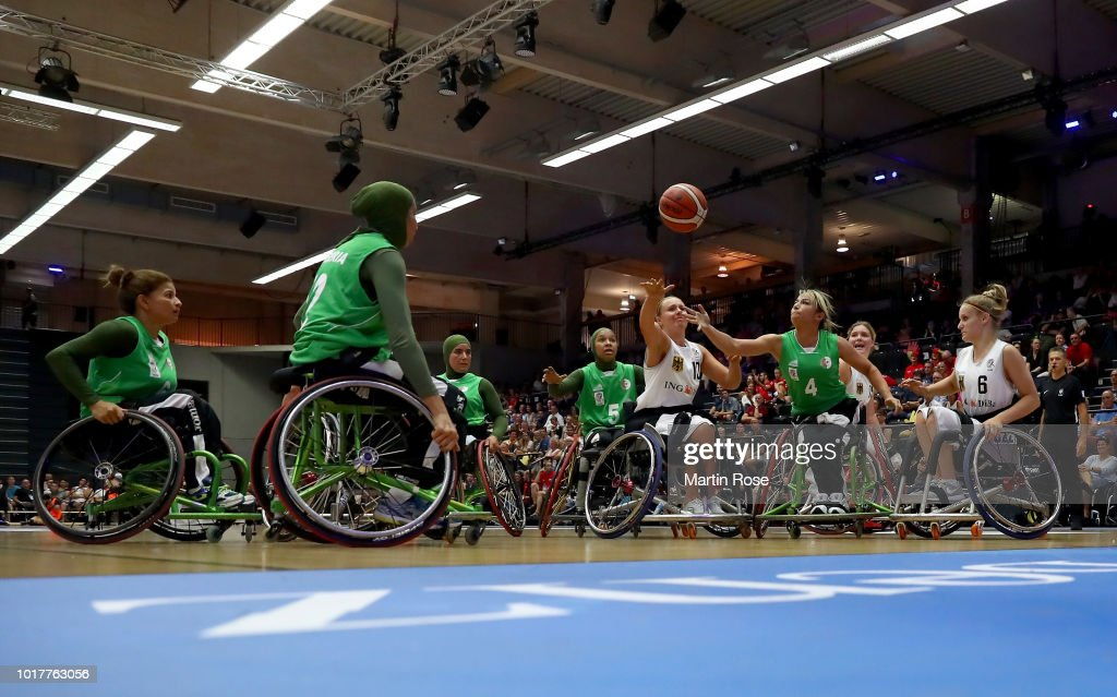 Germany Women's v Algeria Women's - Wheelchair Basketball World Championship 2018