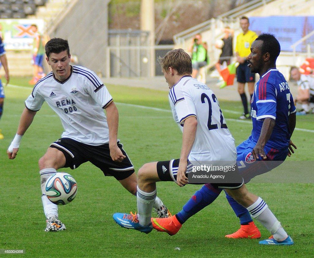 Rosenborg v Karabukspor : News Photo