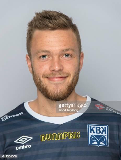Sverre Oekland of Team Kristiansund BK on March 7 2017 in Kristiansund Norway
