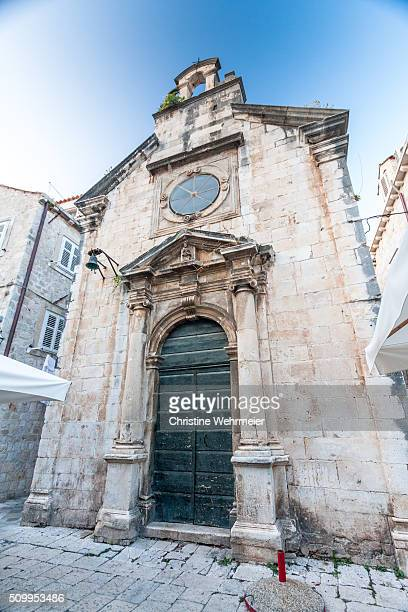 sveti roko, church, dubrovnik, croatia - christine wehrmeier stock photos and pictures