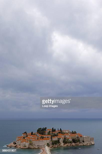 Sveti Stefan is an island resort on the Adriatic coast