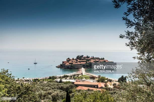 Sveti Stefan island, Abzi-Kula, Montenegro, Europe