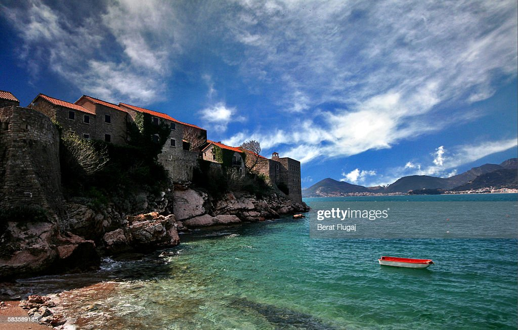 Sveti Stefan, Montenegro : Stock Photo