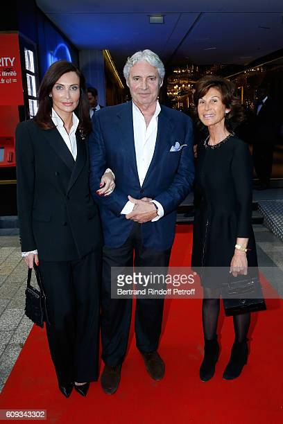 Svetlana Garrel actor Michael Nouri and Sylvie Rousseau attend the 'Cezanne et Moi' movie Premiere to Benefit 'Claude Pompidou Foundation' Held at...