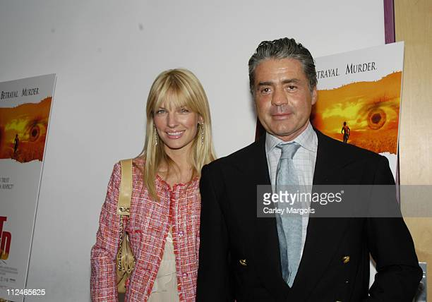 """Svetlana Griaznova and Count Roffredo Gaetani during """"I'm Not Scared"""" - A Screening of an Italian Film with an Italian Dinner - Arrivals at..."""
