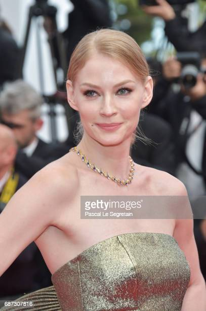 Svetlana Khodchenkova attends the 70th Anniversary screening during the 70th annual Cannes Film Festival at Palais des Festivals on May 23 2017 in...