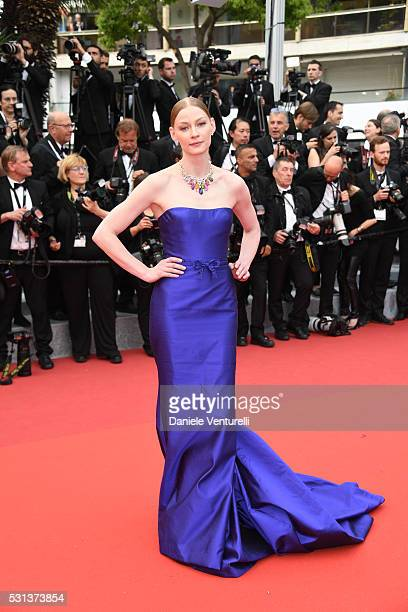 Svetlana Khodchenkova attends 'The BFG ' premiere during the 69th annual Cannes Film Festival at the Palais des Festivals on May 14 2016 in Cannes
