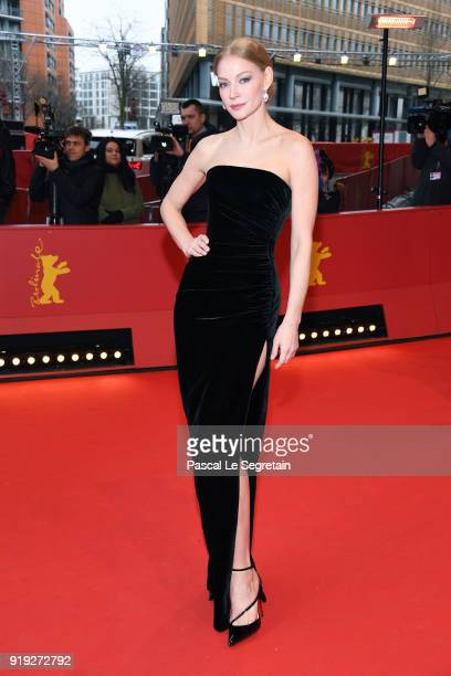 Svetlana Khodchenkova attends the 'Dovlatov' premiere during the 68th Berlinale International Film Festival Berlin at Berlinale Palast on February 17...