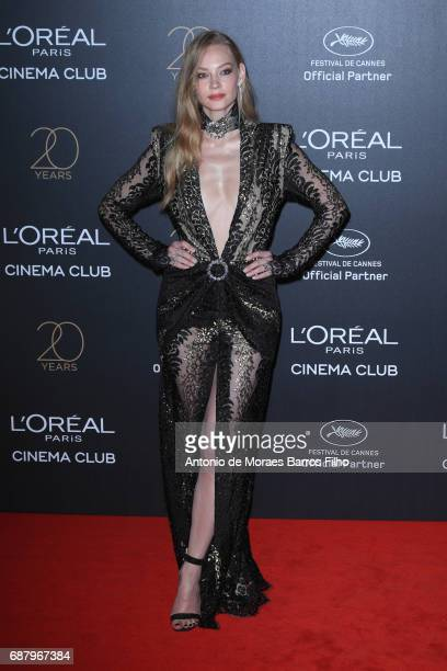 Svetlana Khodchenkova attends the Gala 20th Birthday Of L'Oreal In Cannes during the 70th annual Cannes Film Festival at Hotel Martinez on May 24...