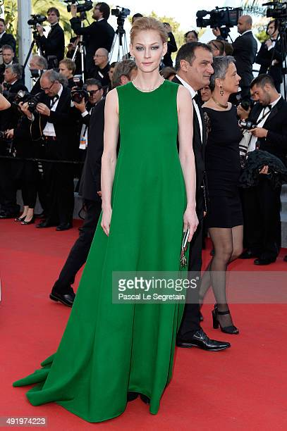 Svetlana Khodchenkova attends The Homesman premiere during the 67th Annual Cannes Film Festival on May 18 2014 in Cannes France