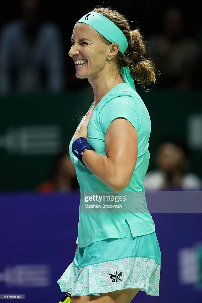 BNP Paribas WTA Finals: Singapore 2016 - Day Two