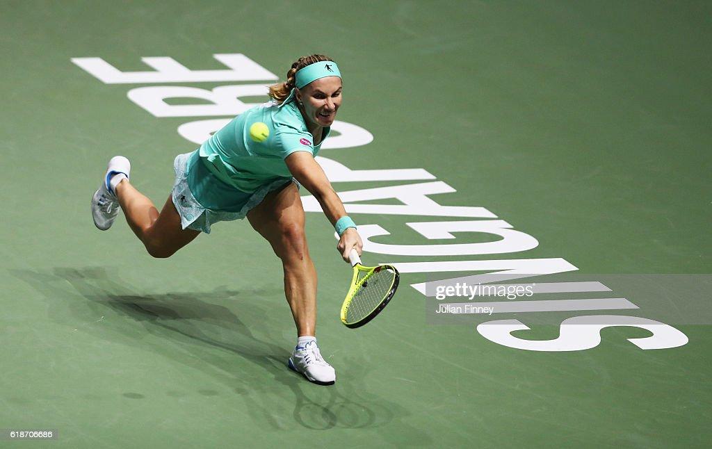 BNP Paribas WTA Finals: Singapore 2016 - Day Six : News Photo