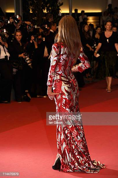 Svetlana Metkina attends the Drive premiere during the 64th Annual Cannes Film Festival at Palais des Festivals on May 20 2011 in Cannes France