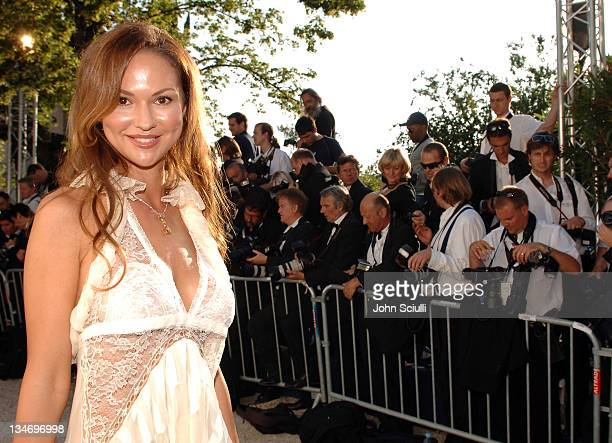Svetlana Metkina during amfAR Cinema Against AIDS Benefit in Cannes, Presented by Bold Films, Palisades Pictures and The Weinstein Company - Red...